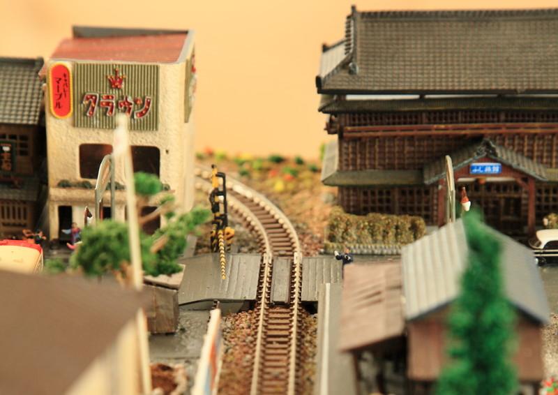 古い町並みを再現